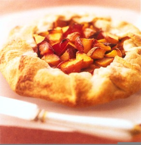 Easy as Pie Peach Crostata