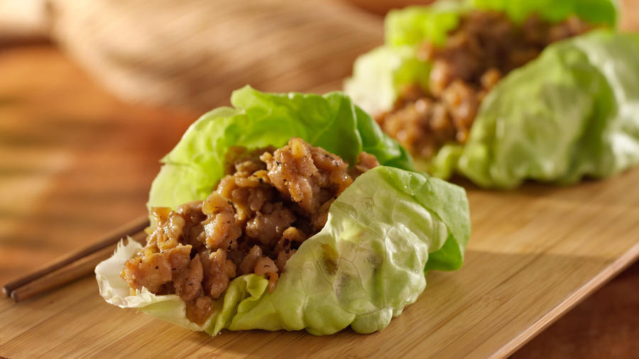 Seriously Simple: Minced chicken in lettuce cups is easy for lunch or ...